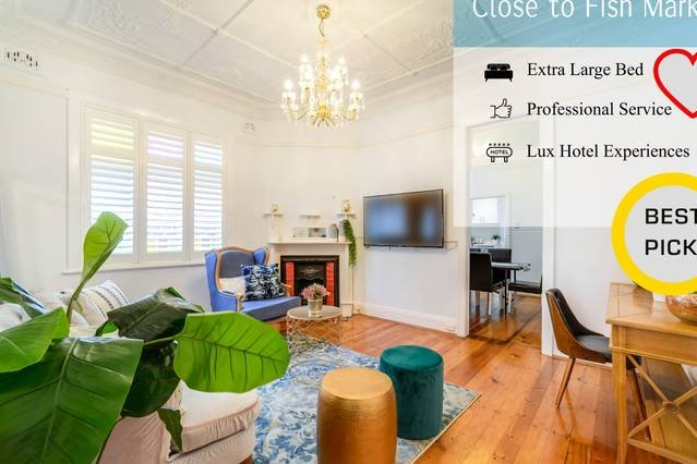 Stunning Inner City House close to Fish Market, vacation rental in Balmain