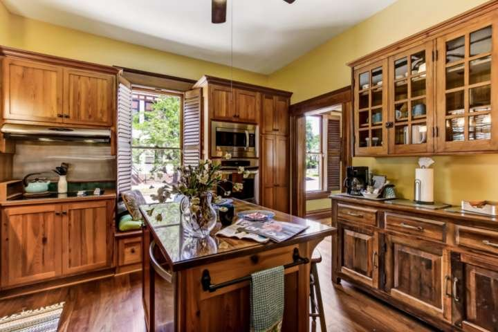 Relax in this fabulous kitchen