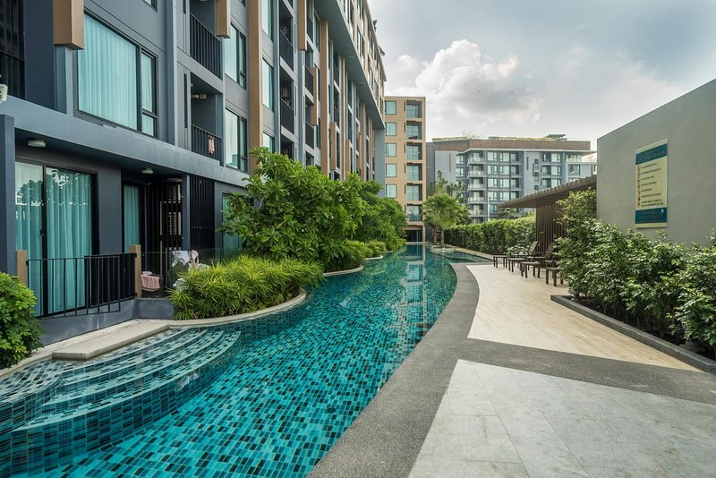 Aristo 521 - Brand new studio close to beach, 3 pools., holiday rental in Cherngtalay
