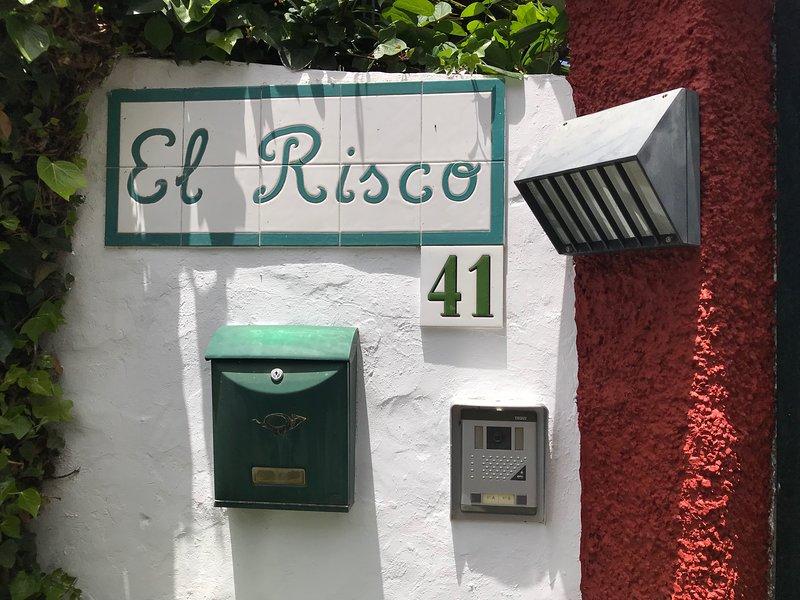 Preciosa y tranquila villa en un entorno natural único: Villa El Risco, holiday rental in Santa Brigida