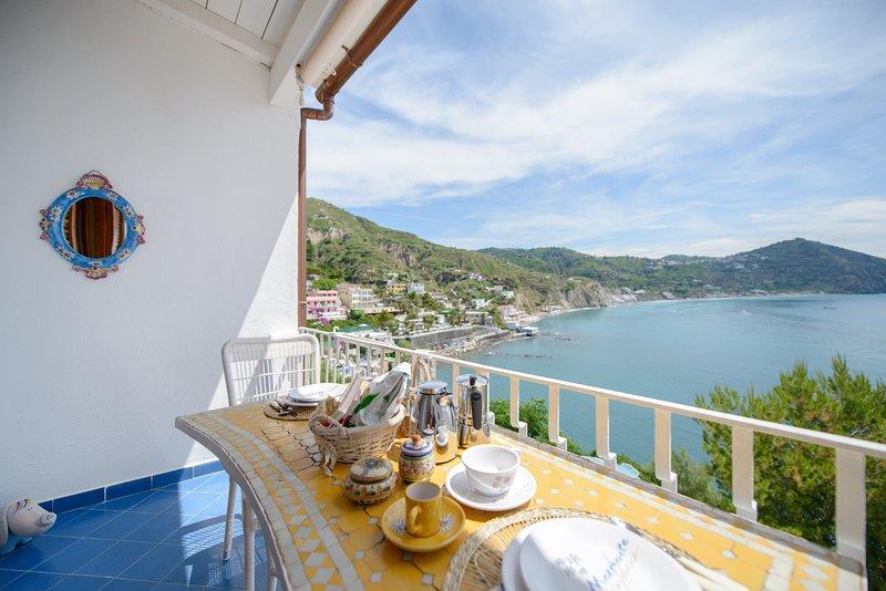La nostra  meravigliosa Villa Margherita a picco sul mare, holiday rental in Serrara Fontana
