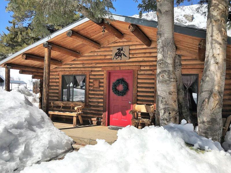 Evergreen Cabin-2 Bdrm Log Cabin Retreat-Clark Co, holiday rental in Clark