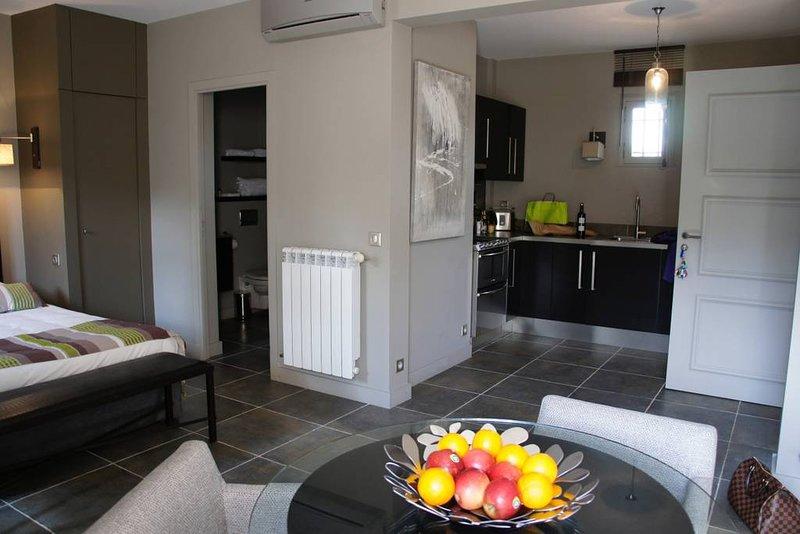 Appartement T1 de standing dans mas provencal -  T1 Etage, location de vacances à Meyreuil