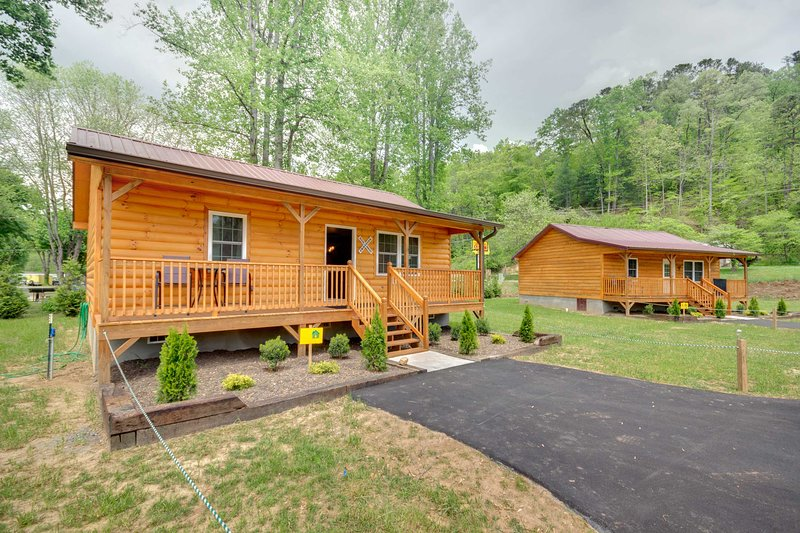 Look forward to memorable Smoky Mountain adventures at this vacation rental!