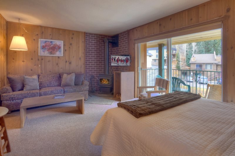 Comfortable Studio Condo Purgatory Resort Durango, alquiler de vacaciones en Durango Mountain