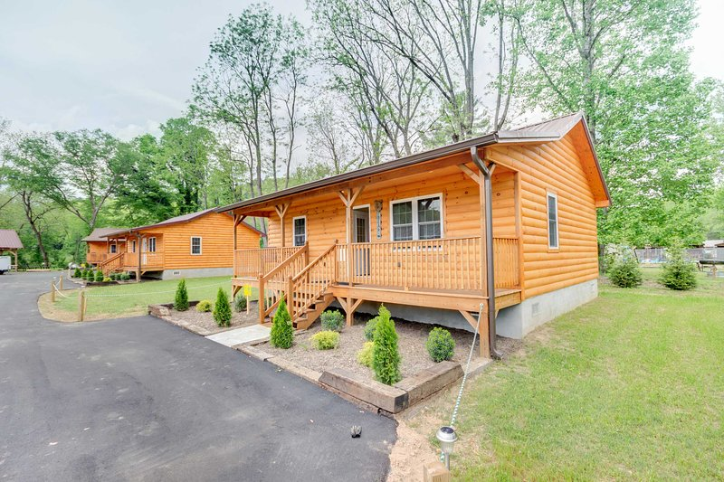 Book a Bryson City getaway to this vacation rental cabin!