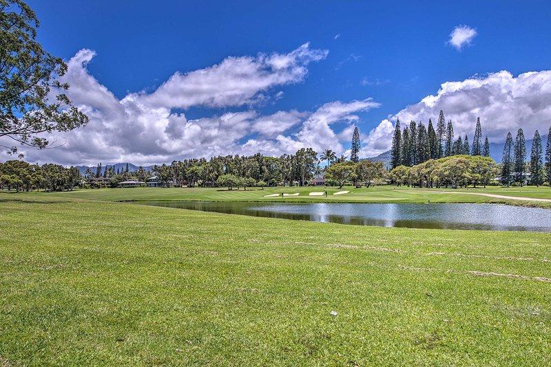 Réservez une heure de départ pour une journée de golf amusante.