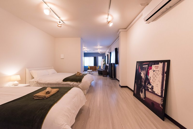 Ikebukuro 9min/46m2 room w/large beds, vacation rental in Nerima