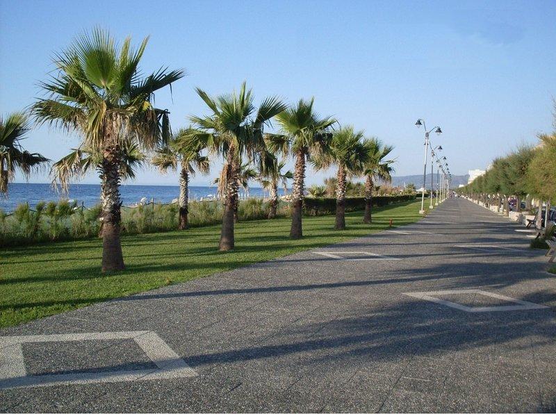 Lungomare of Venetico Marina