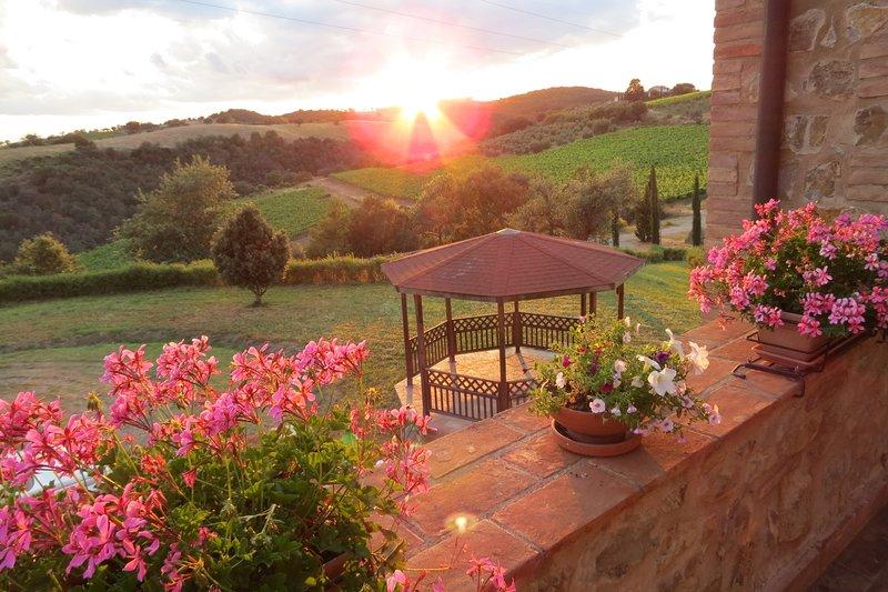 Agriturismo in Cinigiano - Argentario apt., holiday rental in Cana