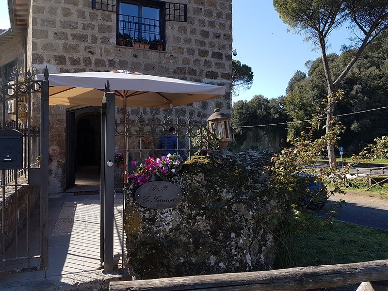 B&B Le Terrecotte 'L'Anfiteatro', vacation rental in Capranica - Scalo