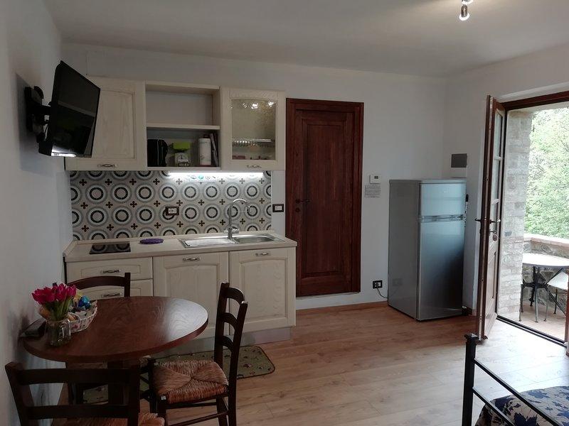 Agriturismo IL PODERUCCIO Dolce Appartamento, holiday rental in Bagno Vignoni
