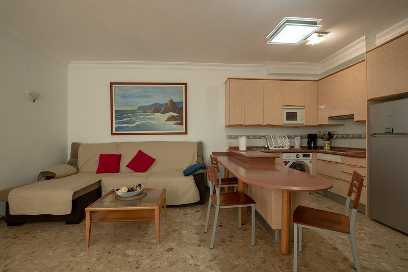 Apartamento en primera Linea de Playa Las Canteras - Parking y wifi, vacation rental in Las Palmas de Gran Canaria