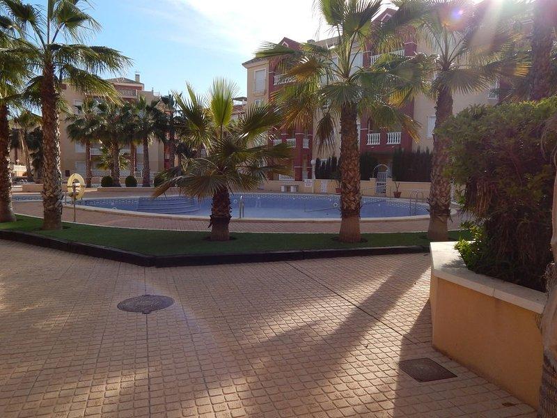 Vista de una de las piscinas.