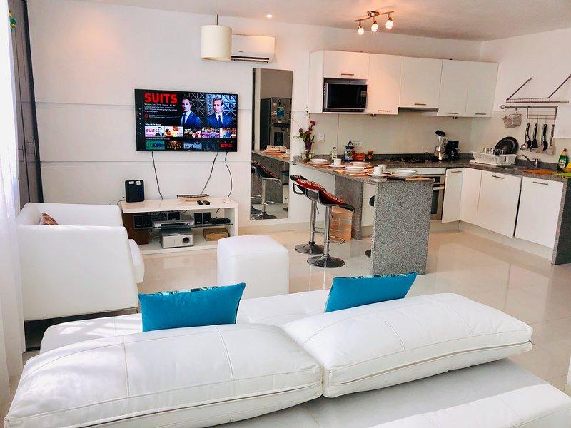 Departamento acogedor en Playa del Carmen, holiday rental in Playacar