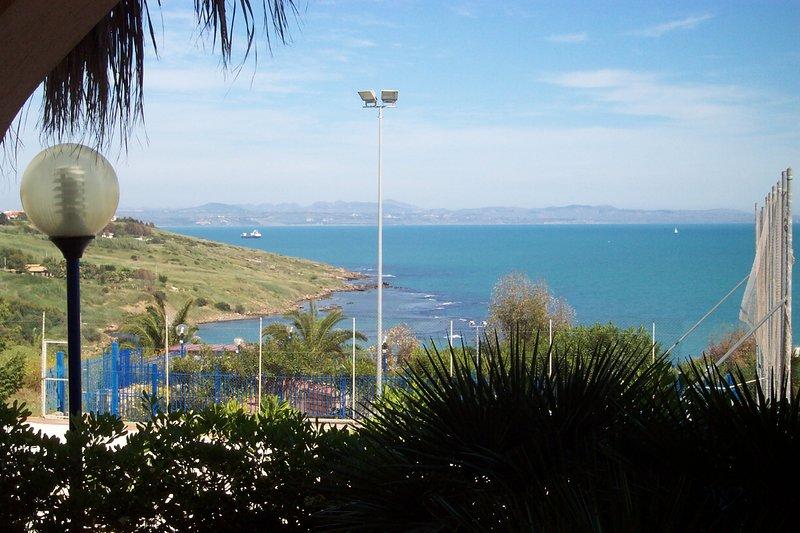 villetta panoramica sul mare di sicilia, holiday rental in Localita Rogana I
