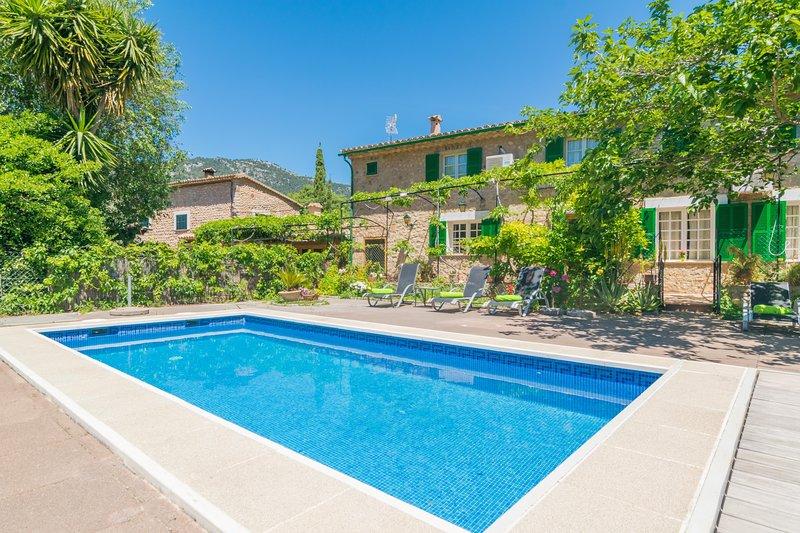 CAN ALTES - Villa for 6 people in Biniaraix, holiday rental in Sa Calobra