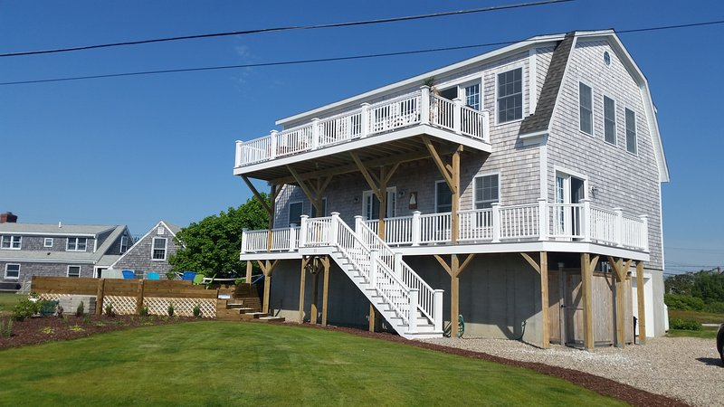 Gorgeous river/ocean home - new 2016 - Only 1 week in summer 7/13-7/20, vacation rental in West Dennis
