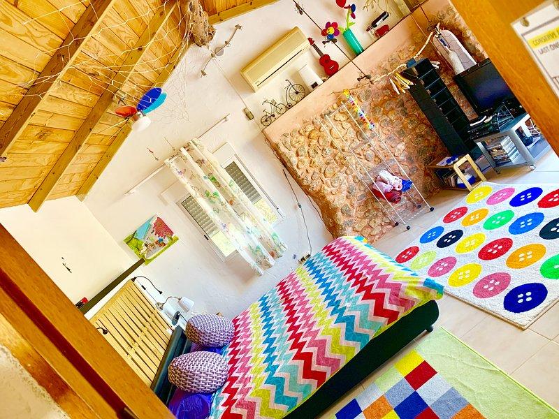 little cozy house  pool 10x5 WIFI   Ibiza, holiday rental in San Juan Bautista