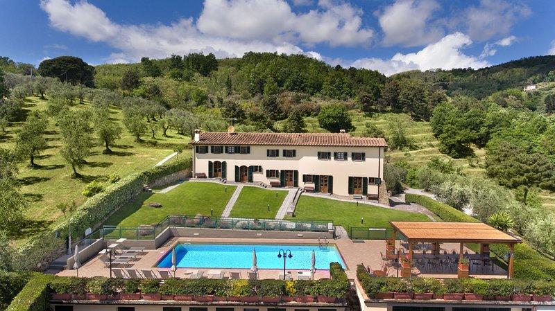 Villa Ferretta, holiday rental in Ponteginori