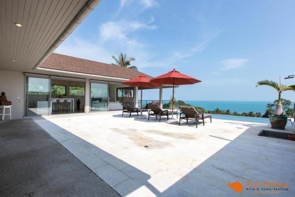 Villa Gati '3BR + Private Pool & Sea View ' Lamai, alquiler vacacional en Lamai Beach