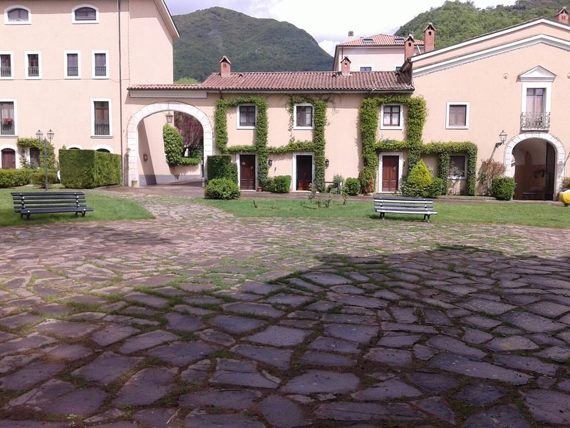 Nice apt with garden, holiday rental in San Donato Val di Comino