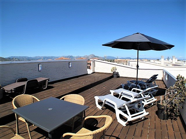 Large private, roof top terrace with 360° views.