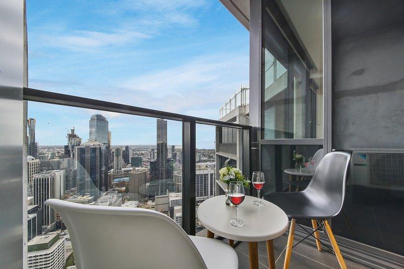 Una vista spettacolare sulla città di Melbourne.