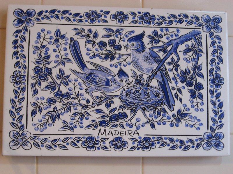 A typical Madeiran tile.