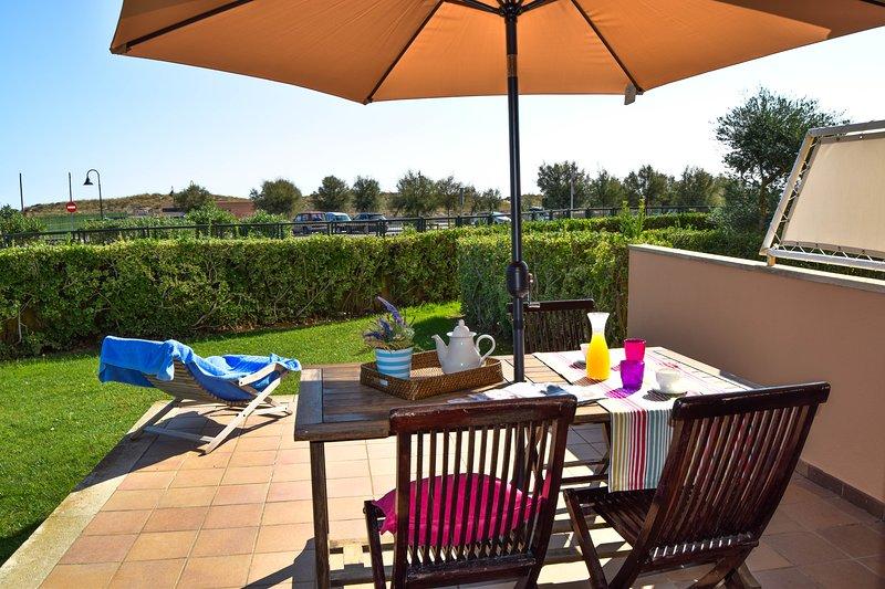 Apartment in front of the beach- private garden-SA PUNTA COSTA BRAVA