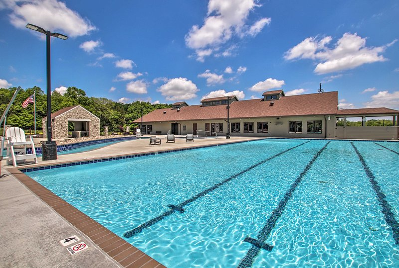 Looking to work out? Do some laps in the big pool!