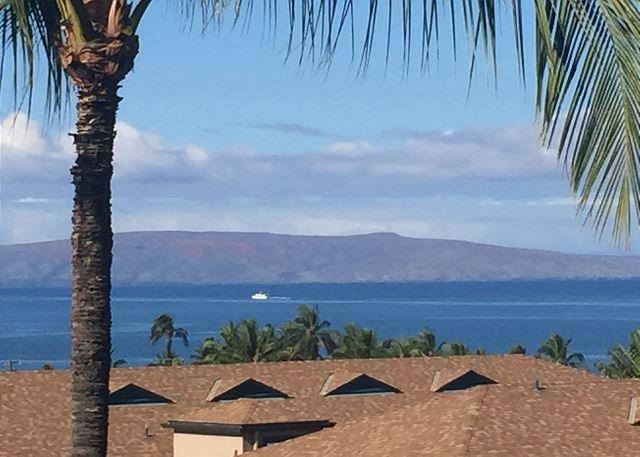 Ocean View from Maui Vista #3-404