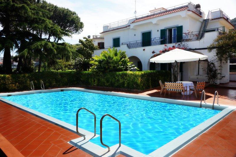 Villa Florek Ischia, holiday rental in Cretaio