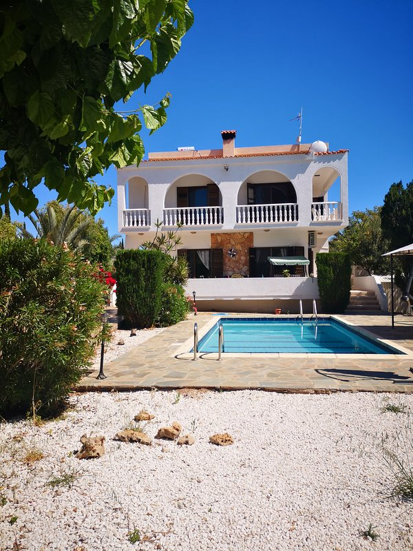 Villa Alex is situated in a very quiet area and neighborhood.