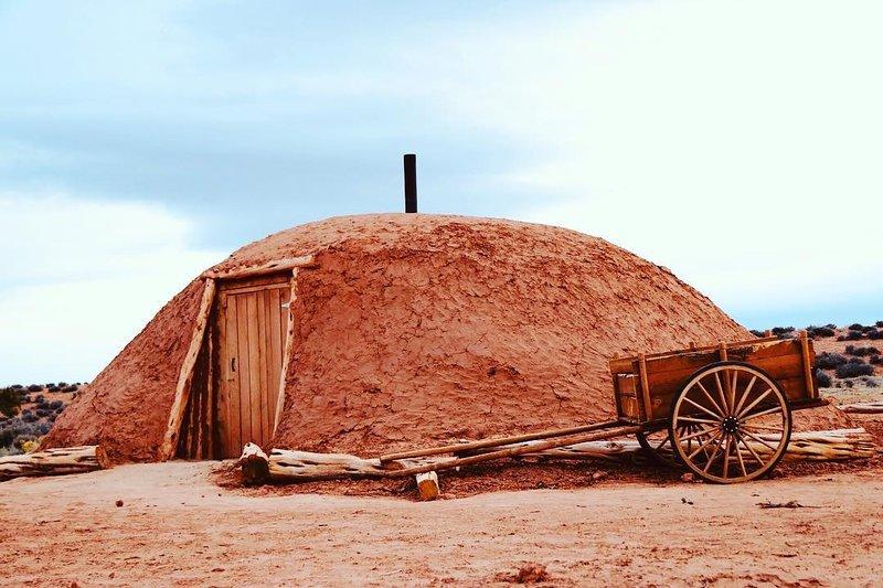 Hogan 2 Glamping on Navajoland, alquiler de vacaciones en Page
