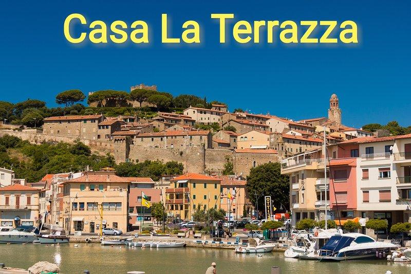 Casa Vacanze La Terrazza, holiday rental in Castiglione Della Pescaia