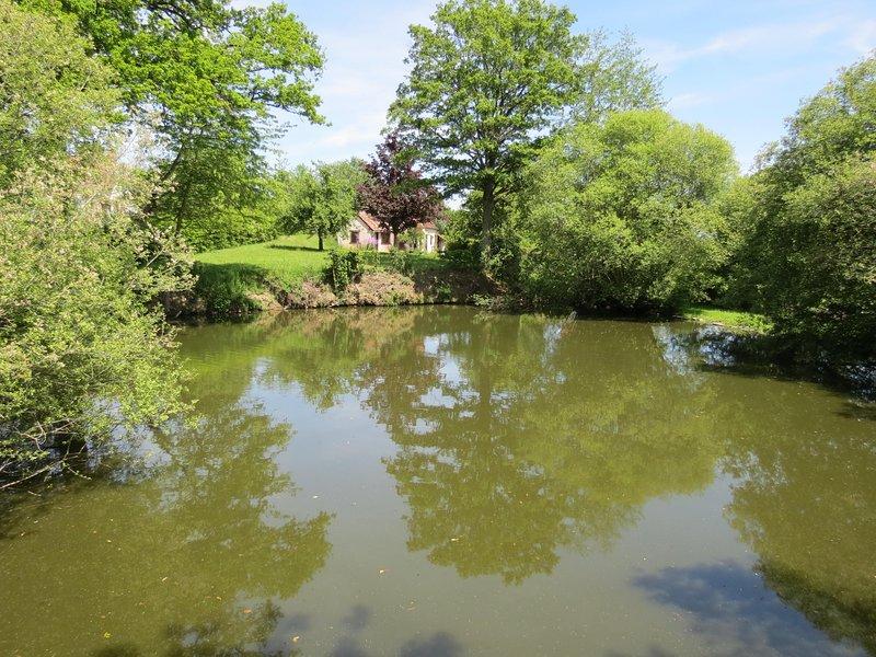 La Maison des Vignes, detached house set in just over half an acre of gardens, vacation rental in La Cellette