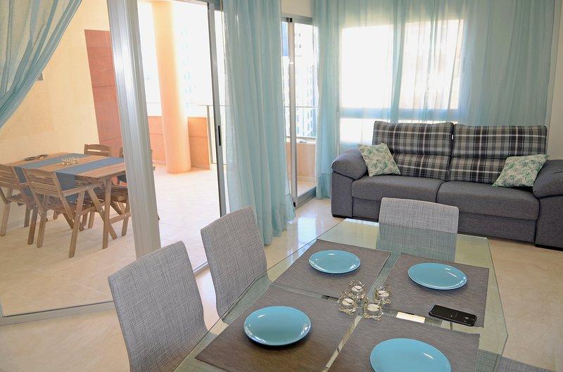 Spacieux appartement de 2 chambres avec grande terrasse