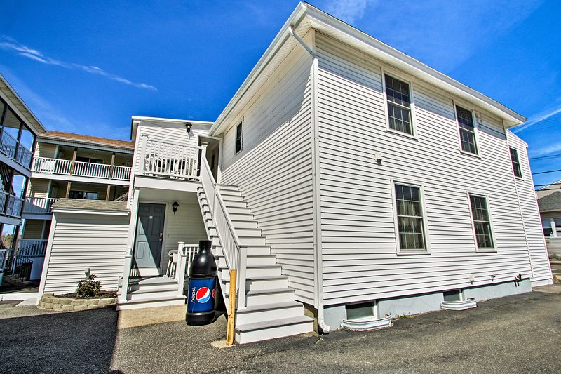 This apartment is located in Old Orchard Beach!