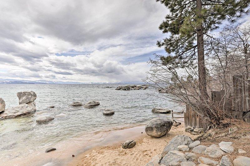 Speedboat Beach è a soli 157 piedi di distanza!