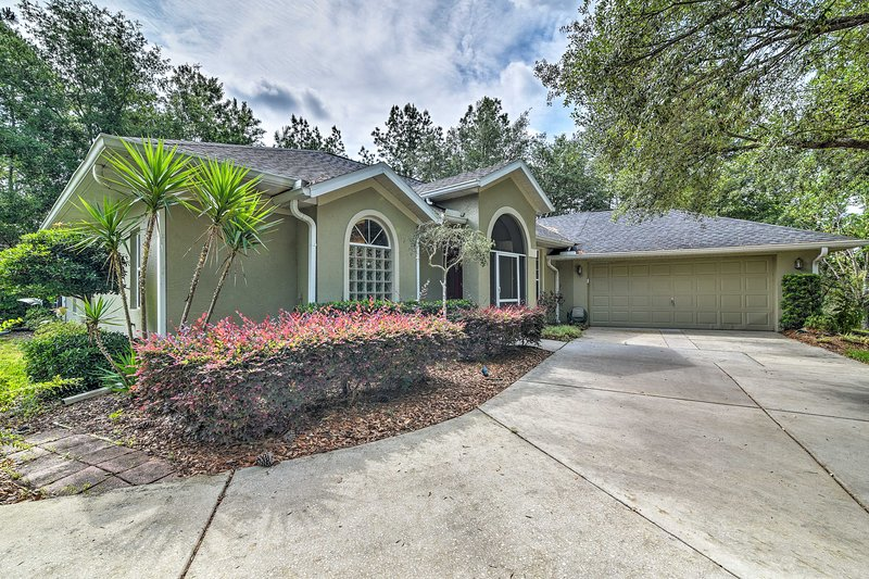 Book your stay at this Homosassa vacation rental today!