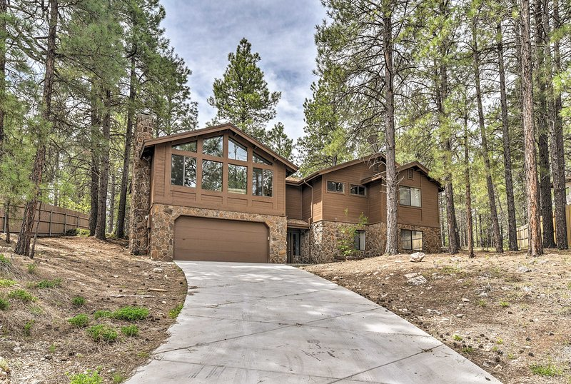This house is just 4 miles from downtown Flagstaff!