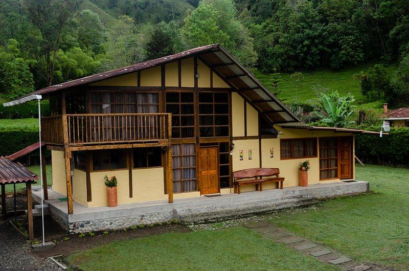 Casa Campo Valle de Cocora, casa vacanza a Circasia