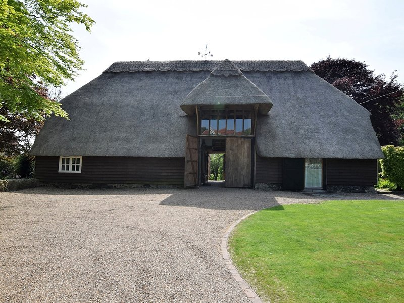 A traditional thatched cottage