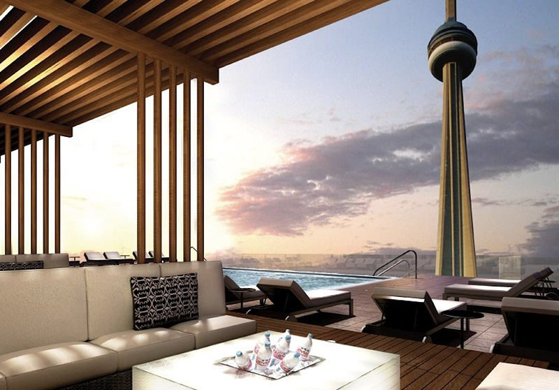 Best view of the CN Tower in Toronto!