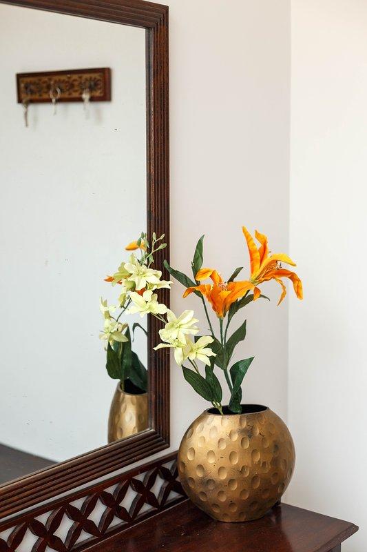 Foyer - We hebben een kleine elegante foyer.