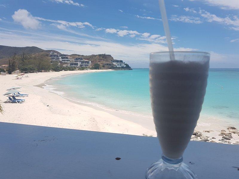 Ffryes beach (10 mins drive)