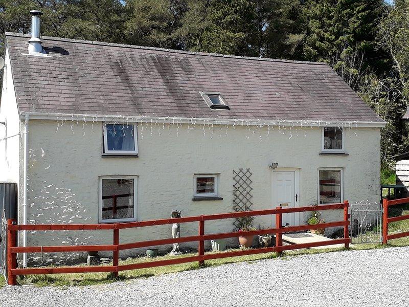 Cwmddol Fawr cottage, Brechfa, Carmarthen, alquiler vacacional en Carmarthen