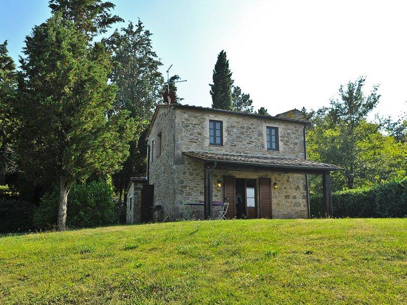 Celle sul Rigo Villa Sleeps 4 with Pool and WiFi - 5247902, vacation rental in Casciano