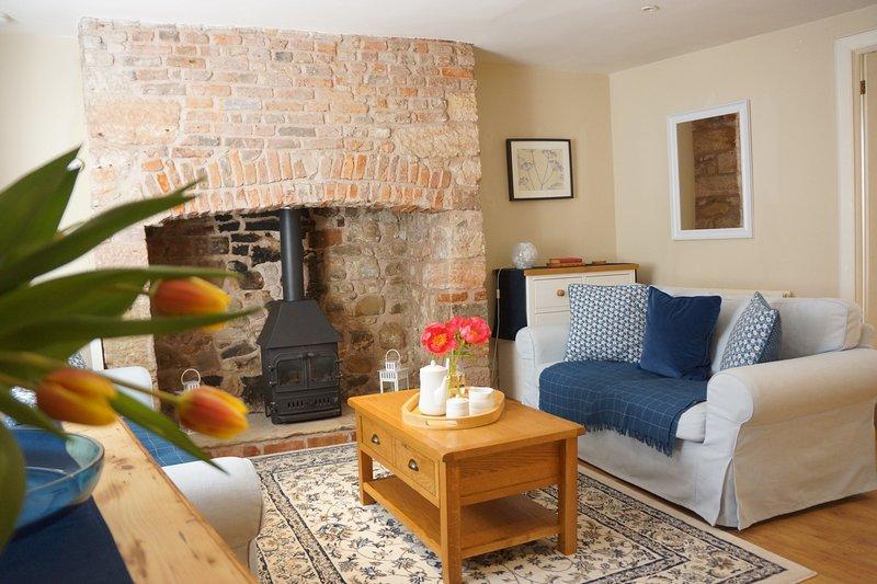 Blue House: Sleeps 5. Spacious & Central, vacation rental in Berwick-upon-Tweed